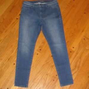 MICHAEL KORS HIGH-RISE SKINNY JEANS 8 R ANKLE FIT
